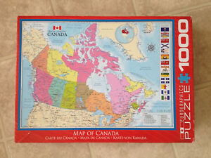 1000 Piece Jigsaw puzzle of Canada