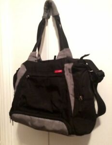 Black & Grey Skip Hop Bento Diaper Bag