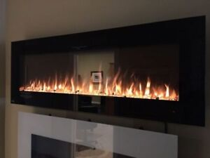 """ELECTRIC FIREPLACES.40""""50""""60""""70""""80""""100"""" VISIT SHOWROOM!"""