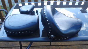 Mustang Seat with Studs and Conchos