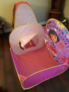 Dora Tunnel Fort and a  play castle