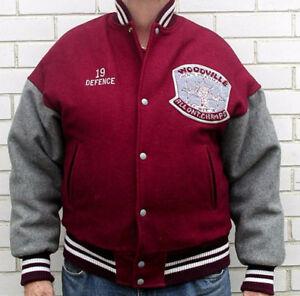 Vintage 1991 Woodville Peewees Ontario Champs Hockey Jacket