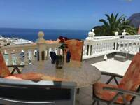 LATE AVAILABILITY APARTMENT AND VILLA TENERIFE AND SOUTHERN SPAIN.