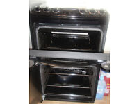Zanussi Black Double Gas Oven ZCG43330B A QUIK SALE £200 ono