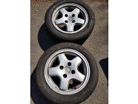 Peugeot 106 XSI alloy wheels (106, 206, 205, 306, 309, 405, 406)