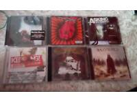 Cd collection 2. 50 pound for each