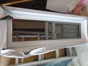 fenêtre neuve pvc haut de gamme coulissante