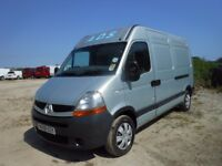 Renault master mm33-dci-100 2007-56-reg,2464 cc,lwb high top, new mot upon purchase