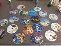 Disney DVDs all legitimate UK just outgrown