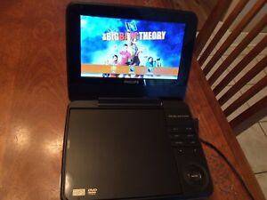Phillips rechargeable portable DVD player