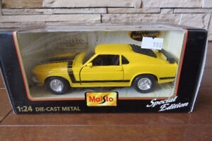 1:24 Scale 1970 Boss Mustang Diecast