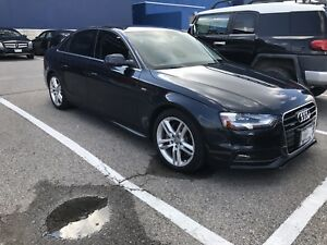 2016 Audi A4 2.0t Technik S-Line- Moonlight Blue on Black
