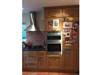 Kitchen , Oak style Magnet cabinets , drawers and all appliances included.