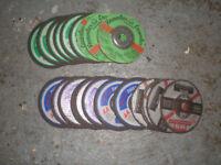 Brand New Cutting Discs x 22 100mm Stone & Steel