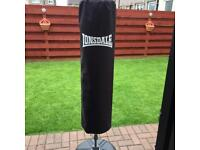 Lonsdale inflatable punch bag
