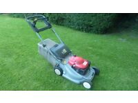 Honda self propelled mower with blade brake clutch