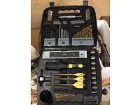Bosch drill bit set barely used