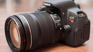 Canon Rebel T4i with EF-S 18-135mm
