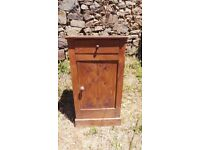 Vintage Retro French Bedside Table Cabinet - Chest Of Drawers Art Deco (10)