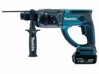 Makita DHR202RM1J 18v SDS Plus LXT Rotary Hammer Drill 1 x 4.0Ah