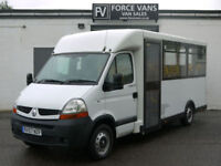 RENAULT MASTER 120.35 LWB DISABLED ACCESS WELFARE MINI BUS VAN CAMPER MOTORHOME