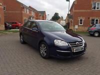 VOLKSWAGEN JETTA AUTOMATIC 2.0 TDI 12 MONTH MOT FULLY SERVICED LOW MILEAGE FULL HPI CLEAR CROUIS