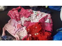 Bundle of girls clothes 0-12 months