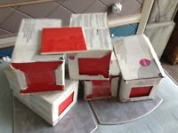 New boxes of red tiles 120 in total 10x10
