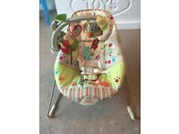 The Fisher Price Woodsy Friends Bouncer