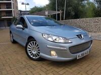 Peugeot 407 2.7 HDi V6 Executive 4dr MP3/AUX+NAV+LEATHER+HISTORY AUTOMATIC DIESEL+XENON+RARE