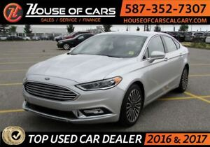 2017 Ford Fusion SE / Navi / Leather / Sunroof / Back up Camera