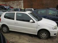 VW POLO MATCH 2001 BREAKING FOR PARTS