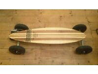 Evolve pintail electric 2 in 1 skateboard