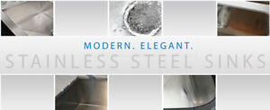 Stainless steel high quality sinks!
