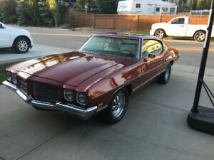 1972 PONTIAC LUXURY LEMANS RARE NO RUST