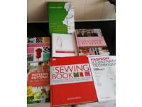 Sewing reference books