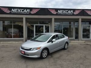 2012 Honda Civic LX 5 SPEED A/C CRUISE CONTROL 123K
