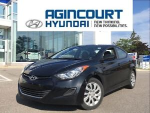 2013 Hyundai Elantra GL/HEATED SEATS/OFF LEASE/ONLY 69627KMS