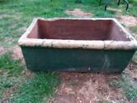 Doulton 1800s Stone Antique sink/manger.