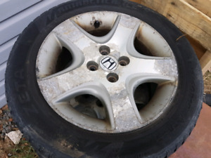 "2005 civic si rims 15"" 4x100"