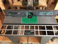 Trend Router table c/w Router and fence