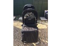 Graco Double Buggy with Cosy Toes & Raincover