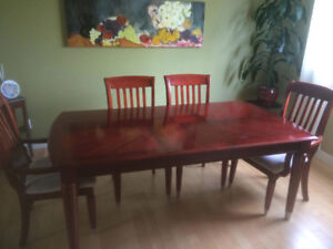 Like New, Priced to Sell- 6 Chair Kitchen Dinning Set