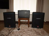 2 Peavey xt2 pa cabs and Peavey XRD 680S PLUS. 600W AMP