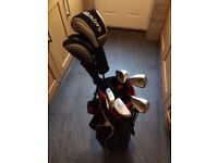 Masters Golf Junior set (age 9-11) with stand bag - LEFT HAND