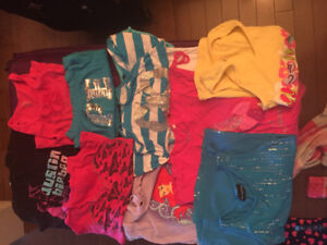 Lot high end girl's clothing size 8
