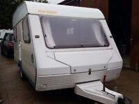 ABI Marauder 4 Berth Caravan with Full Awning