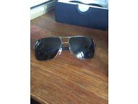 Armani silver sunglasses