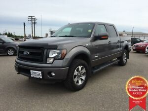 2014 Ford F-150 SuperCrew FX4 EcoBoost 4WD 3.5L *Heated Cloth*