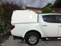BARGIN - Truckman hard top for Mitsubishi L200 Doublecab Trojan.